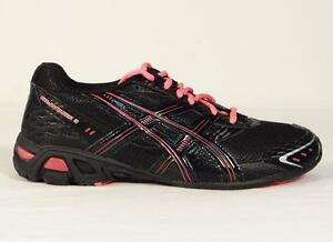 Asics Gel Antares 3 Black & Pink Athletic Running Shoes Youth Girls Sizes NWT