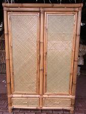 Bambusschrank Kleiderschrank Bambus Schrank Bambusmöbel Bambusbett Hanoi NEU