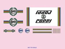 FAUSTO Coppi Bicicletta decals-transfers-stickers - N. 8