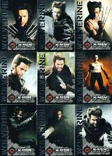 X MEN 3 THE LAST STAND - 9 CARD WOLVERINE CHASE SET