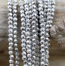 *Pick Your Color * 100pcs 3mm English Cut Czech Glass Beads