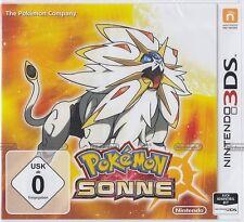 Pokemon SONNE für Nintendo 3DS Neu & OVP Deutsche USK Version