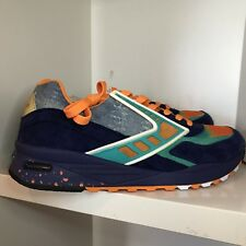 "Rare! Brooks Heritage X Shoe Gallery Regent Miami ""84 Fins"" 1102051D-431 9.5"