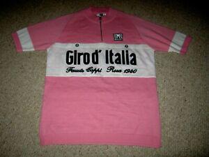 "Genuine Unused Santini 2010 ""Coppi"" wool/acrylic Ltd Edition cycling jersey [S]"