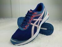 Asics Women's Gel-Sileo Running Shoes Blue Red 1012A177 size 12 us 44.5 eur