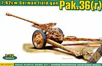 ACE 72571 German Field Gun Pak.36(r) 7.62cm. Scale Plastic Model Kit 1/72