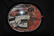 Dale Earnhardt Jr #8 Budweiser Mancave Jebco Wall Clock-NASCAR Collectible