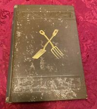 Antique Book Talks On Manures 1896 By Joseph Harris Farming Agriculture