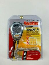 RoadKing RK56CHSS Chrome 4-Pin Dynamic Noise Canceling CB Mic with Chrome Cord