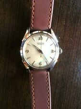 "Croton ""Aquamatic"" Automatic Rechromed case Serviced Pearl Dial Silver numerals."