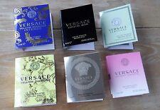 Versace Proben Set- 6 x 1ml Eros, Bright Crystal, Noir, Yellow Diamond Spray NEU