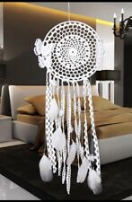Large Size Dream Catcher Knitted Cotton Hand made Craft Room Wall Decoration B