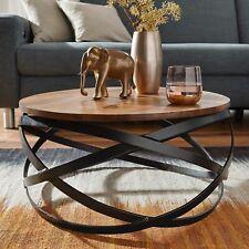 WOHNLING Couchtisch MANUR Wohnzimmertisch Holz Massiv Sofatisch Tisch Wohnzimmer