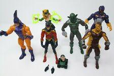 "Marvel Legends 6"" Lot  Tiger Shark Speed Demon Enchantress Whirlwind Shocker"