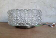 Plafonnier ou applique vintage en verre