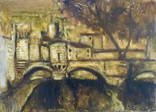 Alice COLONIEU (1924-2010) HsP / Années 60 / Jeune peinture Ecole provençale