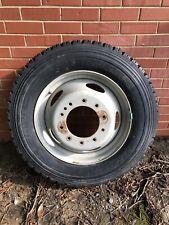 """Unused Michelin XDS2 225/70R19.5 Tire And Ford F-450 F550 19.5"""" 10 lug wheel Rim"""