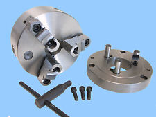 "6"" Self Centering 3 Jaw Chuck W. D1- 4 Adapter"
