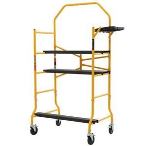 MetalTech Scaffolding Sets Series 5' x 4' x 2-1/2' 900-Lbs Load Capacity
