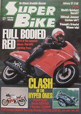 Super Bike magazine February 1987