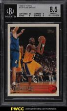 1996 Topps Basketball Kobe Bryant ROOKIE RC #138 BGS 8.5 NM-MT+
