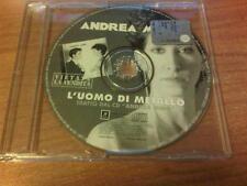 CDs  PROMO ANDREA MIRO' L'UOMO DI METALLO SONY PS 2003 UNA TRACCIA MAX
