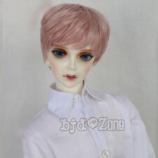 New 1/3 22-24cm LUTS,SD,PULLIP,BJD,SD,AA,LATI Hair Sakura Pink Short Angelic Wig