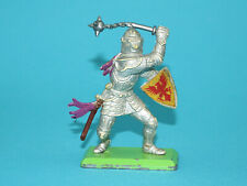 BRITAINS DEETAIL #7730 KNIGHTS OF THE SWORD SILVER KNIGHT 1970s ENGLAND