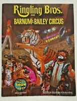 Ringling Bros Barnum Bailey Circus Souvenir Program Greatest Show Earth Vintage