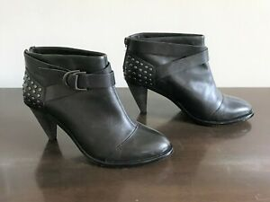 PLENTY BY TRACY REESE 'Wallace' studded booties, sz 37.5