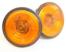 Mazda MX5 - Mk1 Mk2 Mk3 (NA NB NC) 89-15 - ORANGE SIDE REPEATER - PAIR indicator