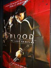 BLOOD THE LAST VAMPIRE Rasuto buraddo Gianna Jun affiche cinema