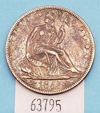West Point Coins ~ 1855-O Seated Half Dollar w Arrows XF