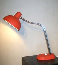 LAMPE de TABLE/ATELIER VINTAGE ARTICULé métal ROUGE DESIGN 50 60 DLG KANDEM