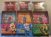 orig.LEGO NINJAGO Arcade Avatar Kai, Jay und Lloyd - 3er Set  NEU / OVP TOP DEAL