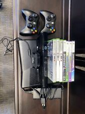 Xbox 360 S Launch Edition 250GB With Kinect and 2 Controllers (7 Games Included)