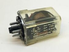 Globe Electrical 2WC30 Relay, 8-Pin, Coil 115V AC, 10A