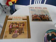 BAJA MARIMBA BAND (2) LPS  WATCH OUT & BAJA MARIMBA BAND  A&M SP 4118/104 EXCELL