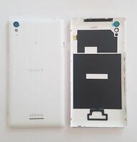 Original Sony Xperia T3 D5106 Akkudeckel Akku Backcover Battery Cover Weiss NFC