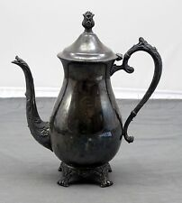 Vintage Antique FB Rogers Silver Company 1883 Style Silverplate Coffee Tea Pot