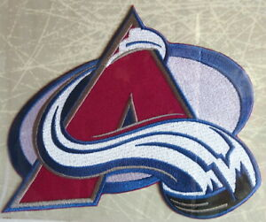 1996 COLORADO AVALANCHE ~ Willabee & Ward NHL THROWBACK HOCKEY TEAM PATCH ~ Only