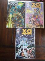 X-O Manowar (1992) #0,14,15 LOT Valiant Comics