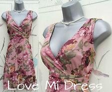 Next - Gorgeous Flower Print Tea Dress Sz 10 EU38 Petite