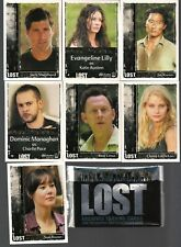 Lost Archives Iw 2010 Full 72 Card Base Set Josh Holloway Evangeline Lilly+ Nm