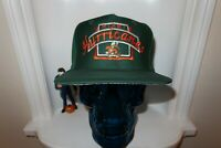 NWOT VINTAGE MIAMI HURRICANES TOP OF THE WORLD TOP SNAPBACK HAT GREY UNDERBILL