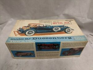 "Vtg Model SJ Duesenberg Town Car - Classic Metal Kit by Hubley - 1/18"" Scale"