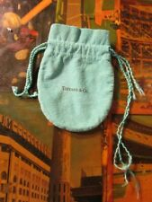 Authentic Tiffany & Co Jewelry Gift Pouch with Drawstring
