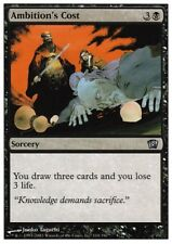 MTG 1x AMBITION'S COST - 8th Edition *Draw FOIL NM*