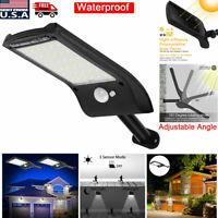 36 LED Solar Light PIR Motion Sensor Waterproof Outdoor Garden Yard Wall Lamp EB