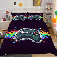 Milsleep Gamepad Comforter Cover Bedding Set Duvet Cover Youth Kids Boys